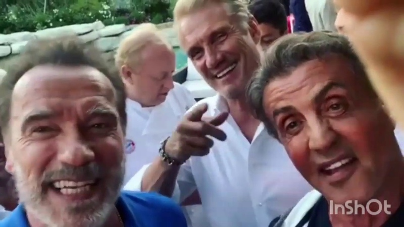 Sylvester Stallone and Arnold Schwarzenegger playground insults 🤣🤣