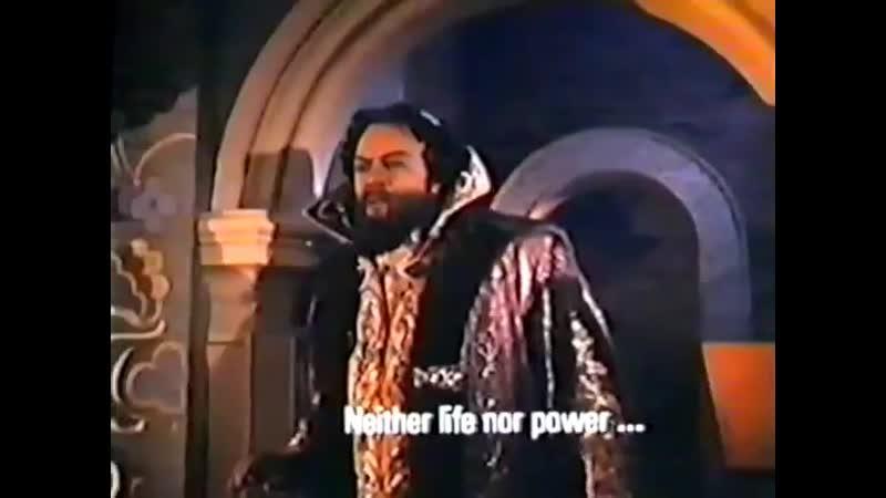 Boris Godunov _⁄ Monolog of Boris - Достиг я высшей власти - Alexander Pirogov