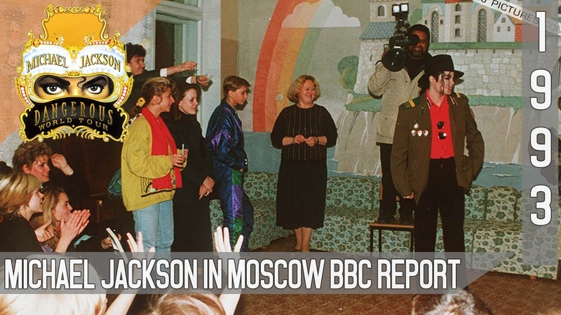 Michael Jackson In Moscow BBC Report 1993 50fps