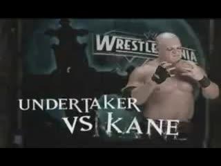 Kane vs. Undertaker. Гробовщик вернулся.