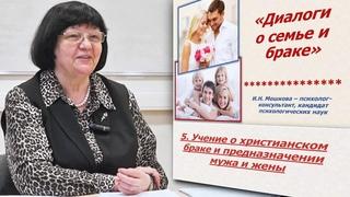 Ирина Мошкова-Диалоги о семье и браке: Учение о христианском браке и предназначении мужа и жены