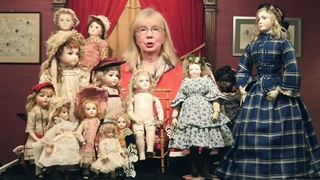 French Bisque Lady and Child Dolls at Auction July 15, 2015
