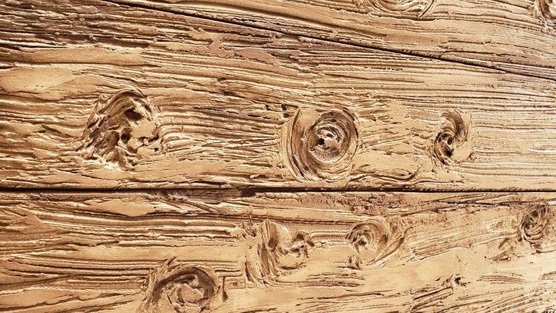 Efeito madeira de demolição com argamassa (cimento cola) INOVAÇÃO DA VASSOURA