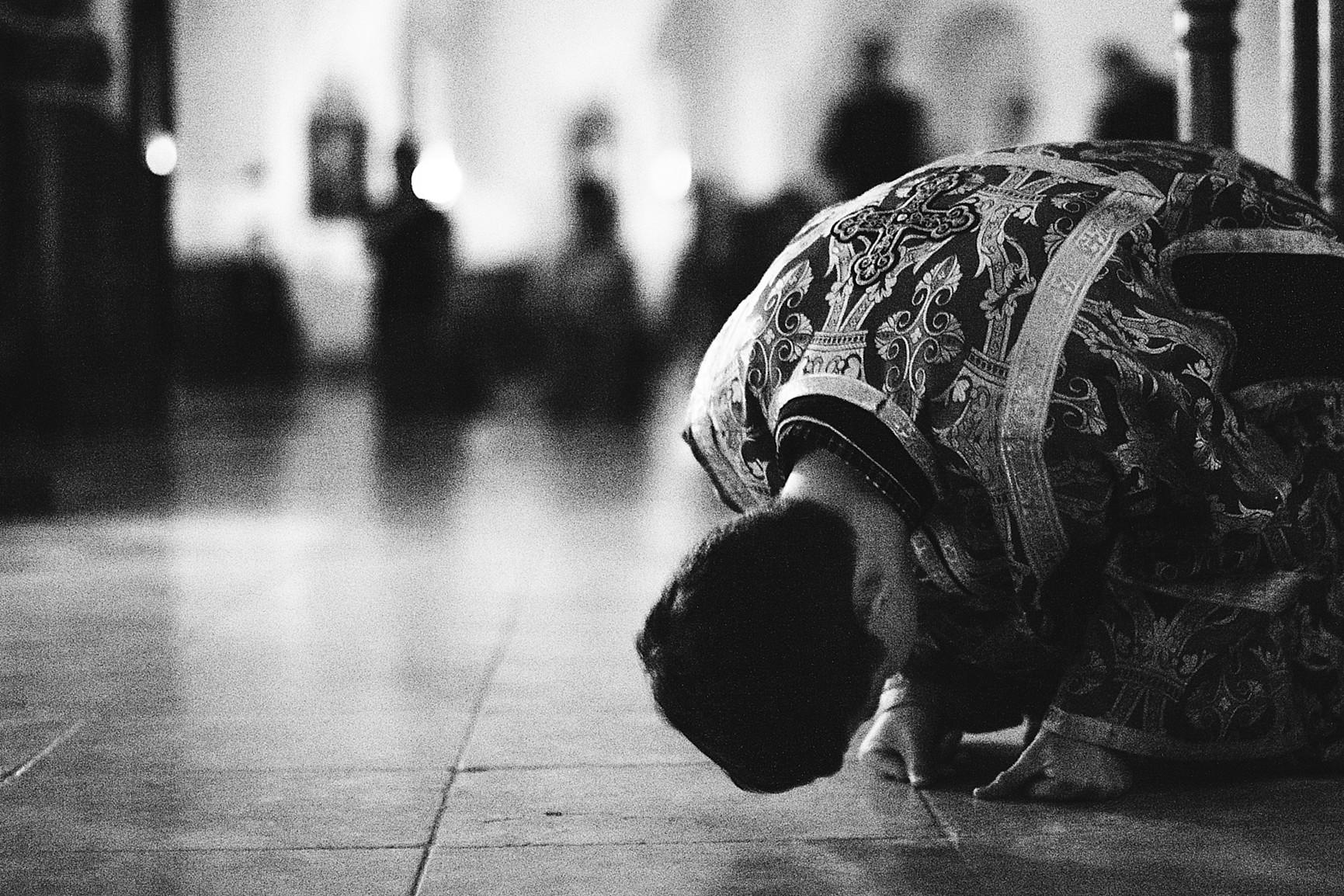 Настоятель обители впервые за историю монастыря совершил вечернюю Литургию Преждеосвященных Даров, изображение №4
