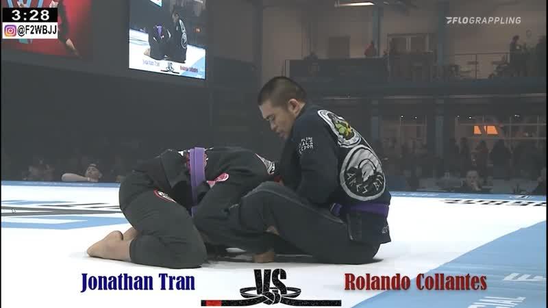 Jonathan Tran vs Rolando Collantes Fight To Win 134
