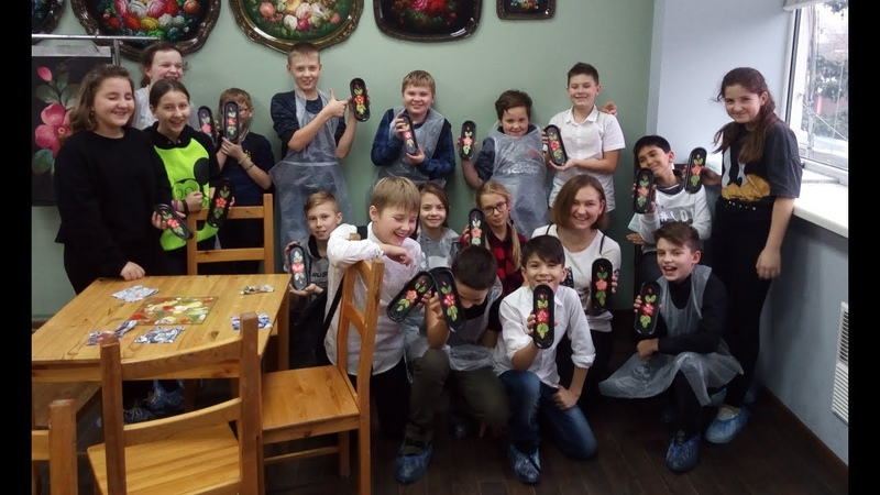 5 в класс Поездка в Жостово 8 ноября 2019 года Видеоотчёт для родителей