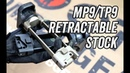 AIRSOFT ARTISAN CNC Retractable Stock For KSC/KWA MP9/TP9