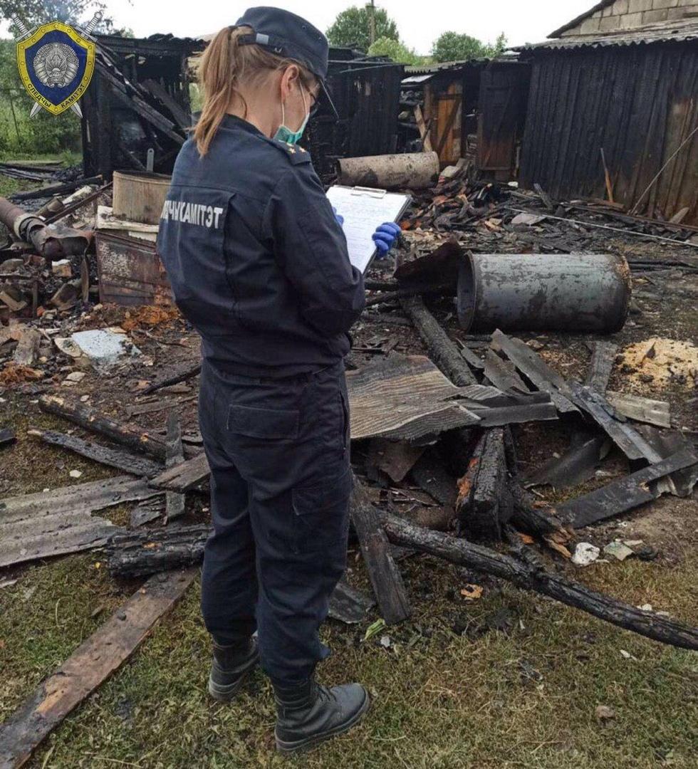 В Жабинковском районе при взрыве газового баллона травмированы два человека