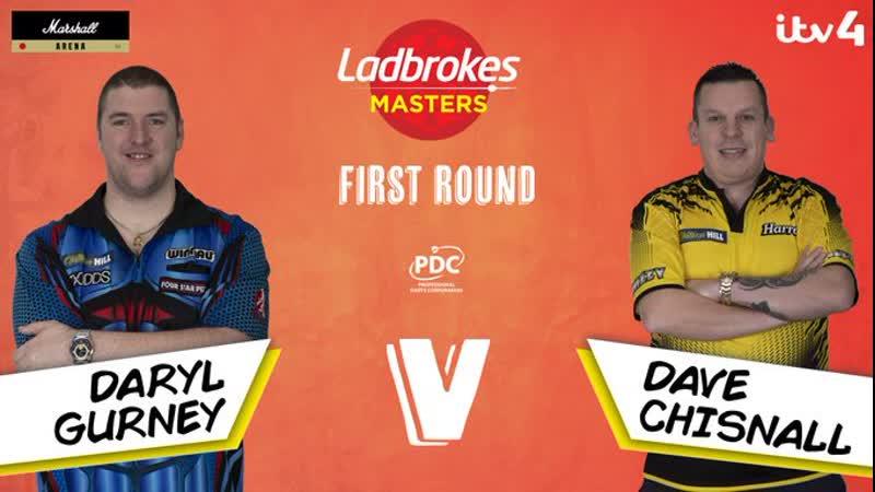 2020 Masters Round 1 Gurney vs Chisnall