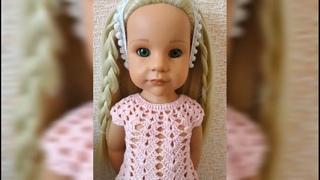 Перепрошивка, допрошивка волос кукле gotz (готц)  замена волос ООАК изменение куклы, восстановление