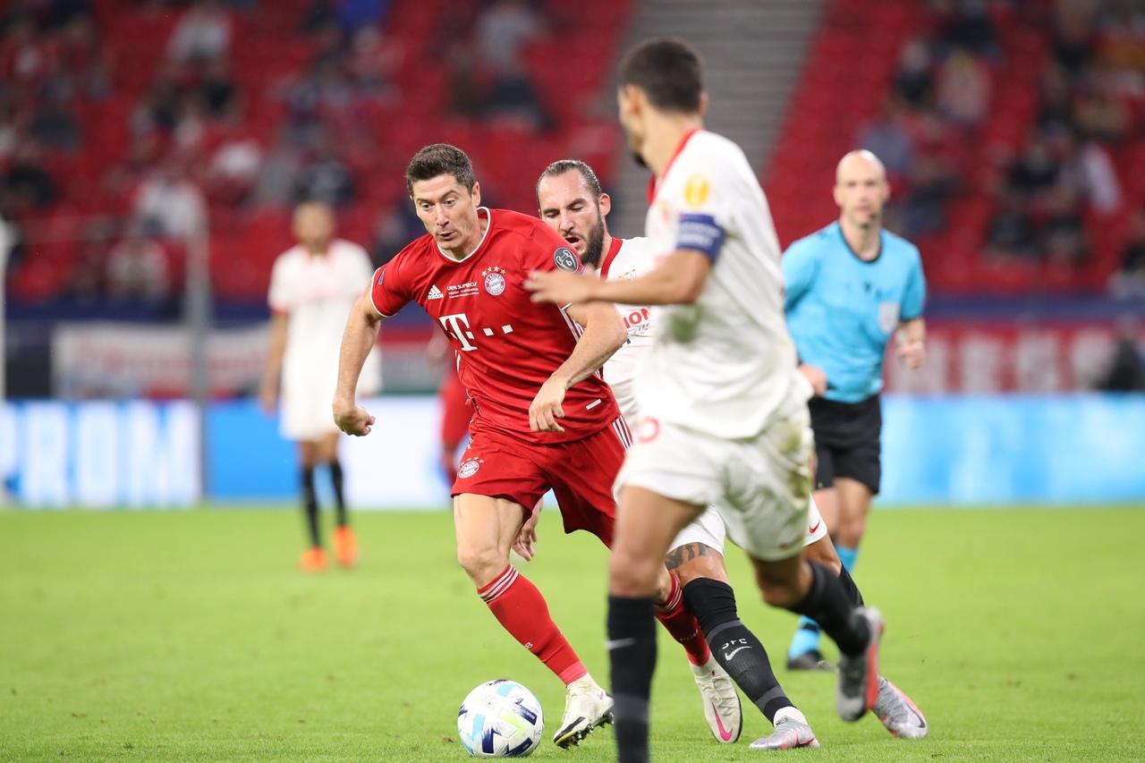 Бавария - Севилья, 2:1. Суперкубок УЕФА