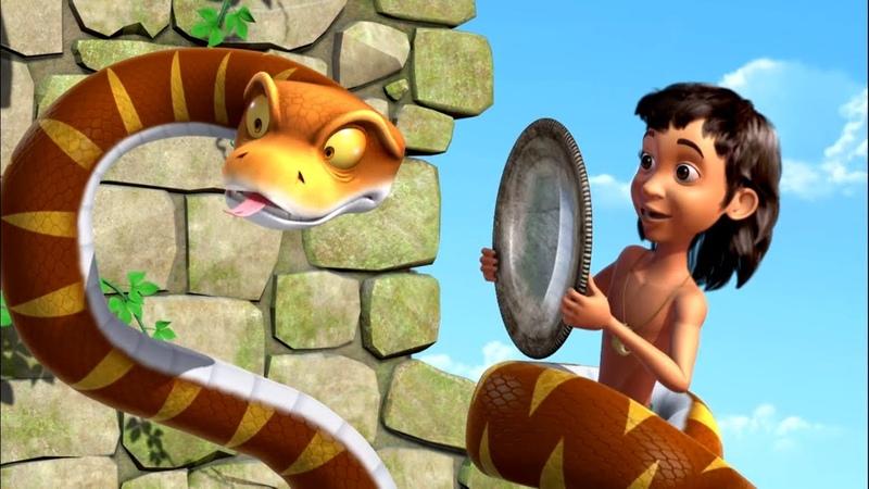 Маугли Книга Джунглей Все серии про ворчливого удава Каа сборник мультфильм для детей