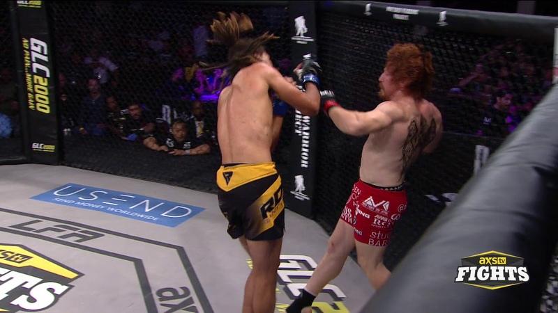 Spike Carlyle Kicks Off LFA 74 With a Brutal Spinning KO