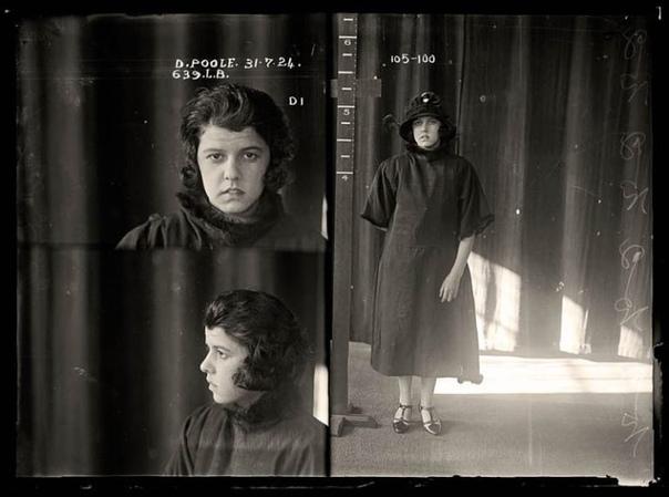 Ретроспектива 31 июля 1924 года. Дорис Пул предстала перед судом по обвинению в краже драгоценностей и одежды. Ранее она была осуждена по аналогичному