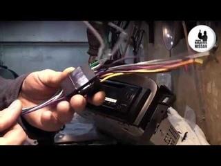 Nissan Primera P12. Установка магнитолы ч.2. Электрика, Установка платы управления, Сборка.