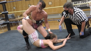 Alec Price vs. Basic Becca - Limitless Wrestling (Intergender, Mixed, The Road)
