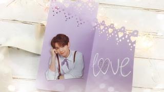Cách Làm Thiệp Tặng Crush Đơn Giản - DIY Paper Love Card