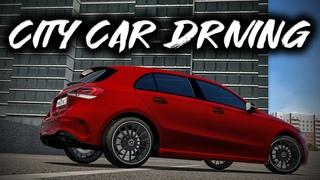 City Car Driving - Mercedes-Benz A-Class A200 2018 | Custom SOUND | Logitech G27
