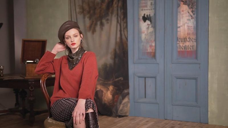 Новая коллекция бренда Алена Горецкая вдохновленная творчеством Тулуз Лотрека и Парижем