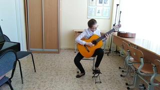 В контакте с гитарой композитор Соколова Елизавета
