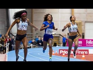 Women's 200m at Sätra Grand Prix 2020
