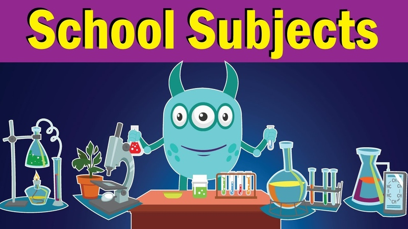 School Subjects Song What Do You Study at School Fun Kids English