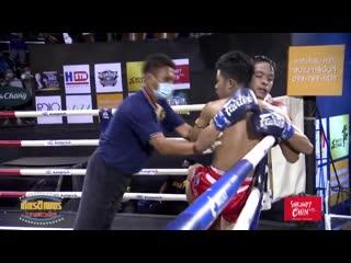 Kiatpetch + Saman Nontjaburi Stadium Muay Thai วันเสาร์ที่ 29 สิงหาคม 2563