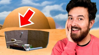 Underground Desert House in The Sims (Base Game)