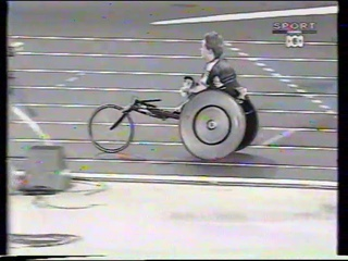 Sydney 2000 Paralympic Games - Womens T53 200m Final (poor quality)
