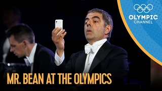 Mr. Bean Live Performance at the London 2012 Olympic Games - YouTube