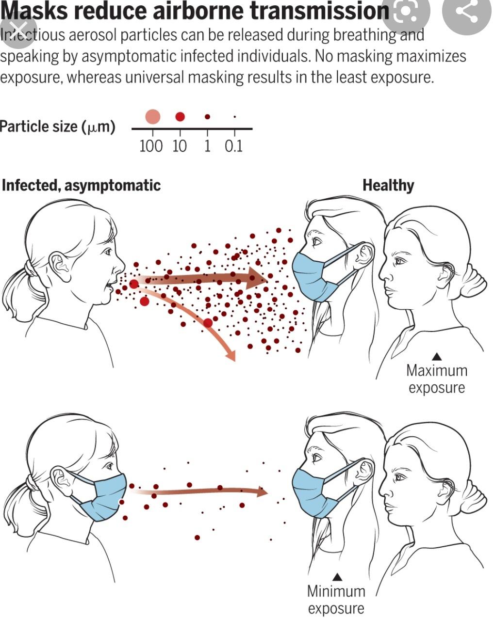 Ковид-заражение: миллион вирусных частиц (с каждым выдохом) не могут ошибаться!