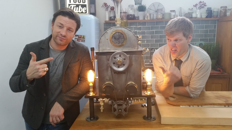 Xmas Spinner Turkey Cooking Machine With Jamie Oliver