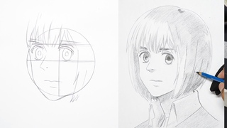 How To Draw Armin Arlert Easy - Attack on Titan (Shingeki no Kyojin)