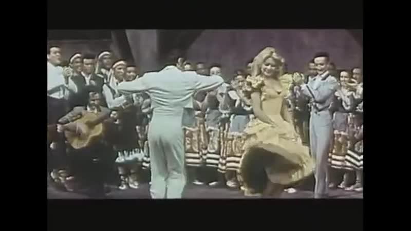 Брижит Бардо Brigitte Bardot Фламенко из к ф Женщина и паяц 1959 г