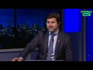 Маурисио Почеттино в студии Sky Sports