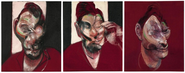 «Три этюда к портрету Люсьена Фрейда», Френсис Бэкон