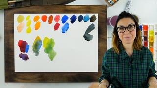 Базовый набор акварельных красок