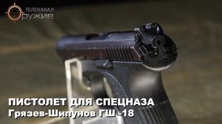 Пистолет для спецназа Грязев-Шипунов ГШ -18. Искусство войны. Оружие ТВ