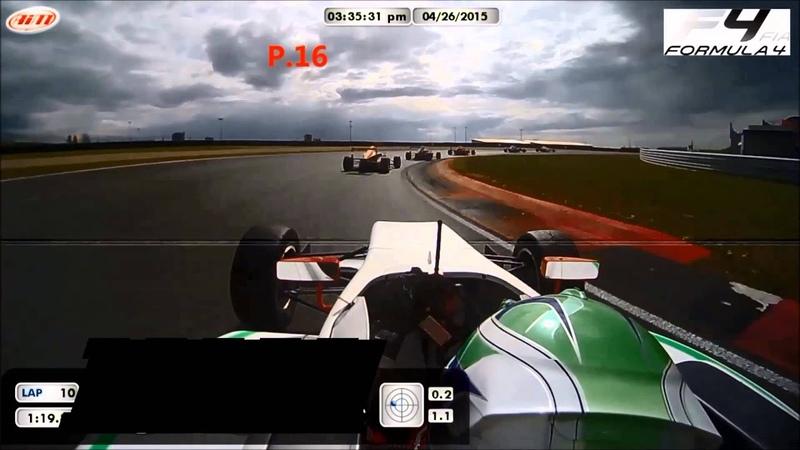 Onboard race Oschersleben ADAC Formula 4 Overtaking action from Janneau Esmeijer