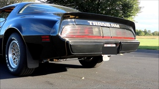 Pontiac Trans Am 400ci BIG CAM Exhaust Idle and Fly By