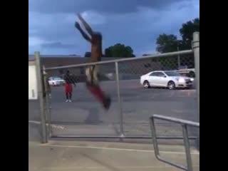 Darius clark, нереальный прыжок