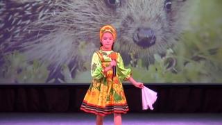 "Александра Курочкина – «В деревне ёжики». Видео студия ""Vizit"""