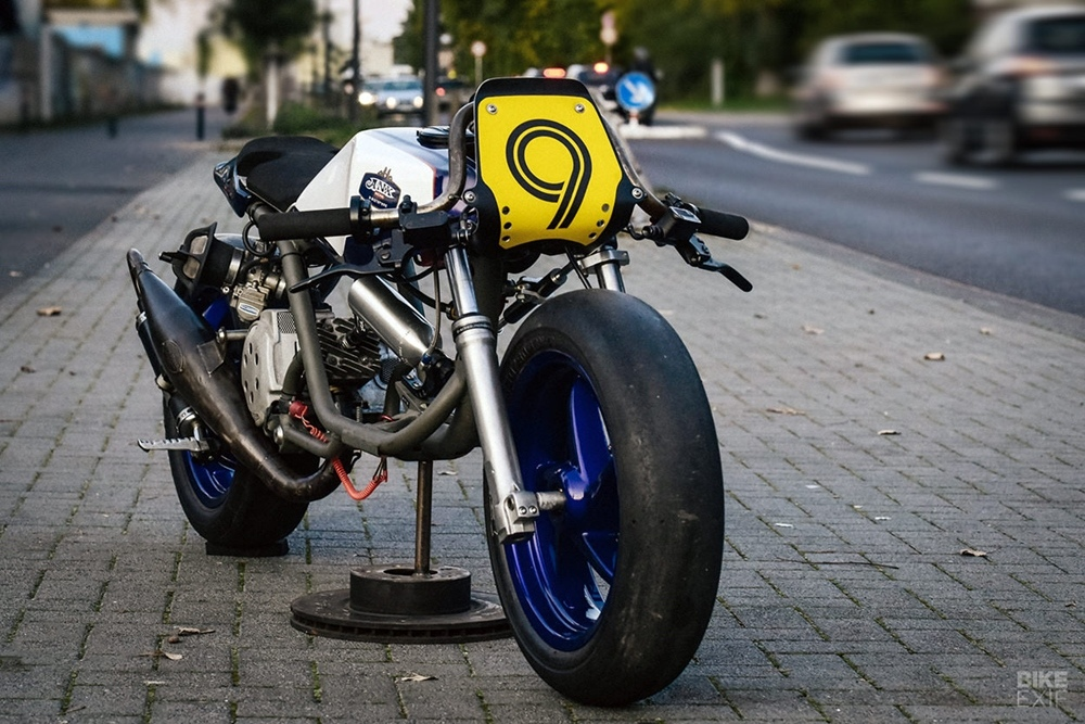 ANX Prototypes: Заряженный скутер Piaggio NRG NOX