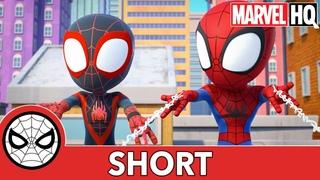Power Practice | Marvel's Spidey and His Amazing Friends | @Disney Junior @Marvel HQ