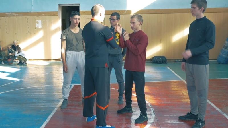 Stikhiya Wing Chun. Раскрытие центральной лини в Вин Чунь.
