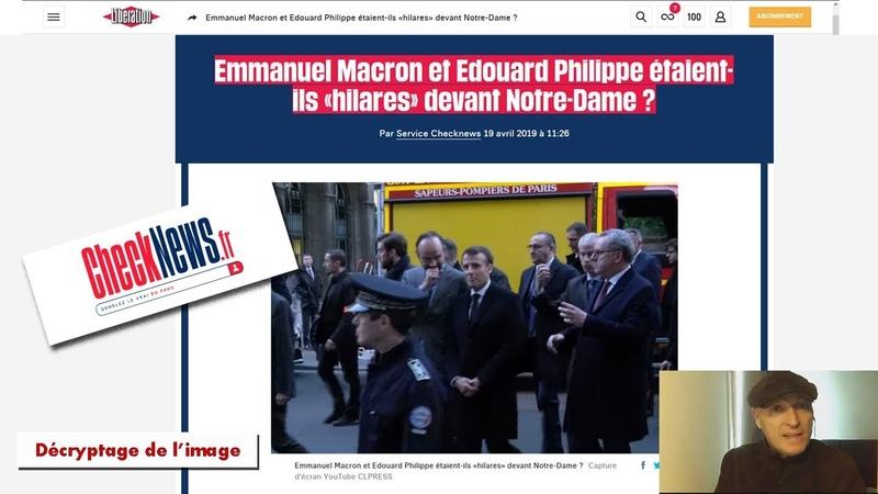 Emmanuel Macron et Edouard Philippe étaient ils hilares devant Notre Dame YouTube