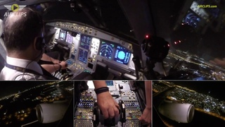 BRAUTIFUL Airbus A330-300 Night Takeoff from Jeddah: Saudia domestic to Riyadh  [AirClips]