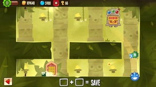 King of Thieves - Base 20 - Double Spinner Corner Pop into Max Height Totem Jump