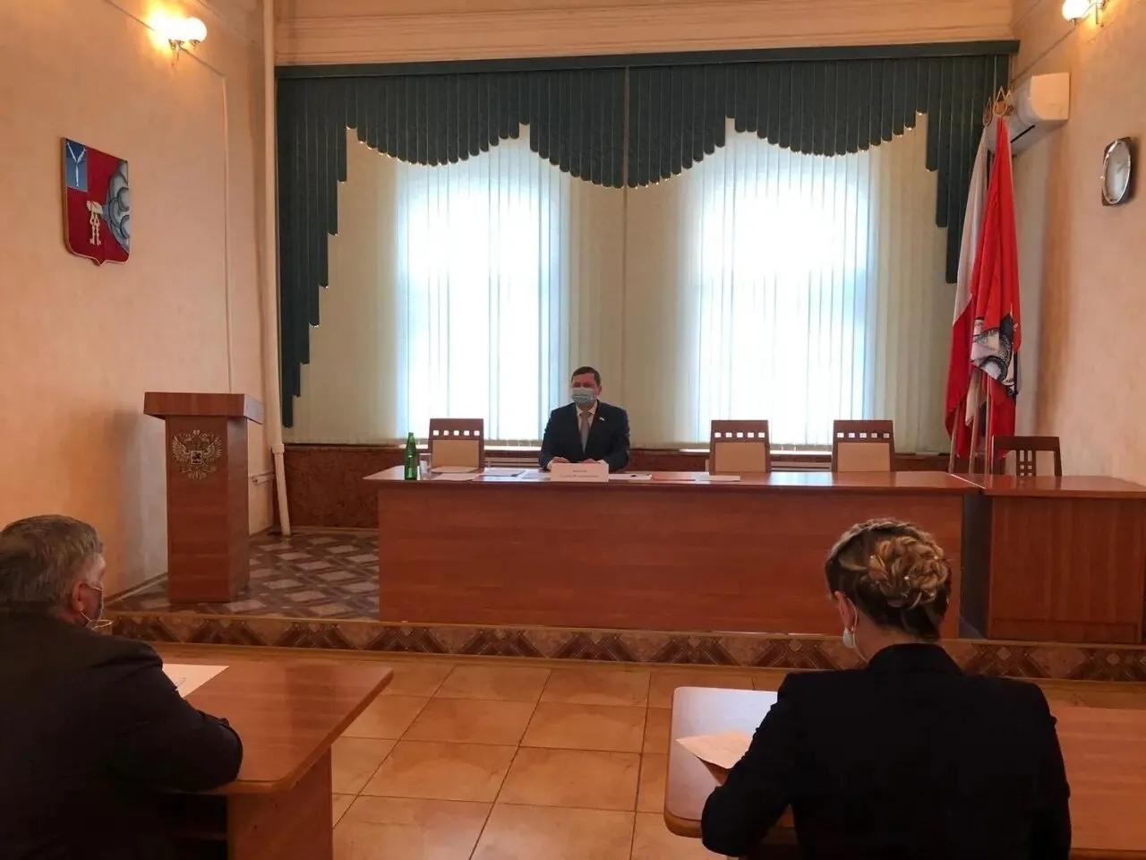 Сегодня Петровский район посещает министр промышленности и энергетики Саратовской области Андрей Архипов