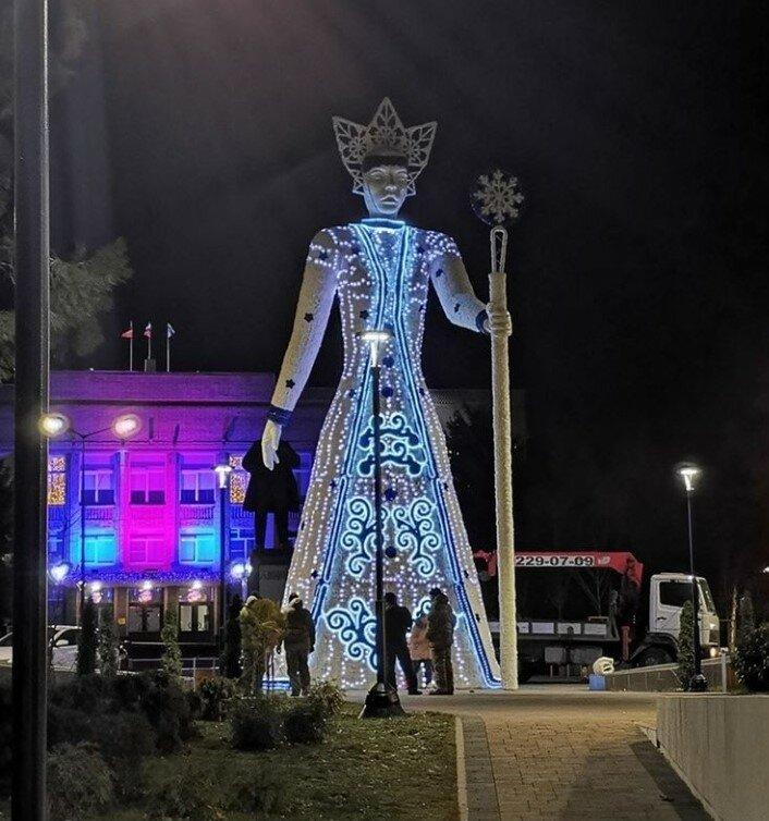 Королева Зима, Аксай. Фото из открытых источников (Инстаграм)